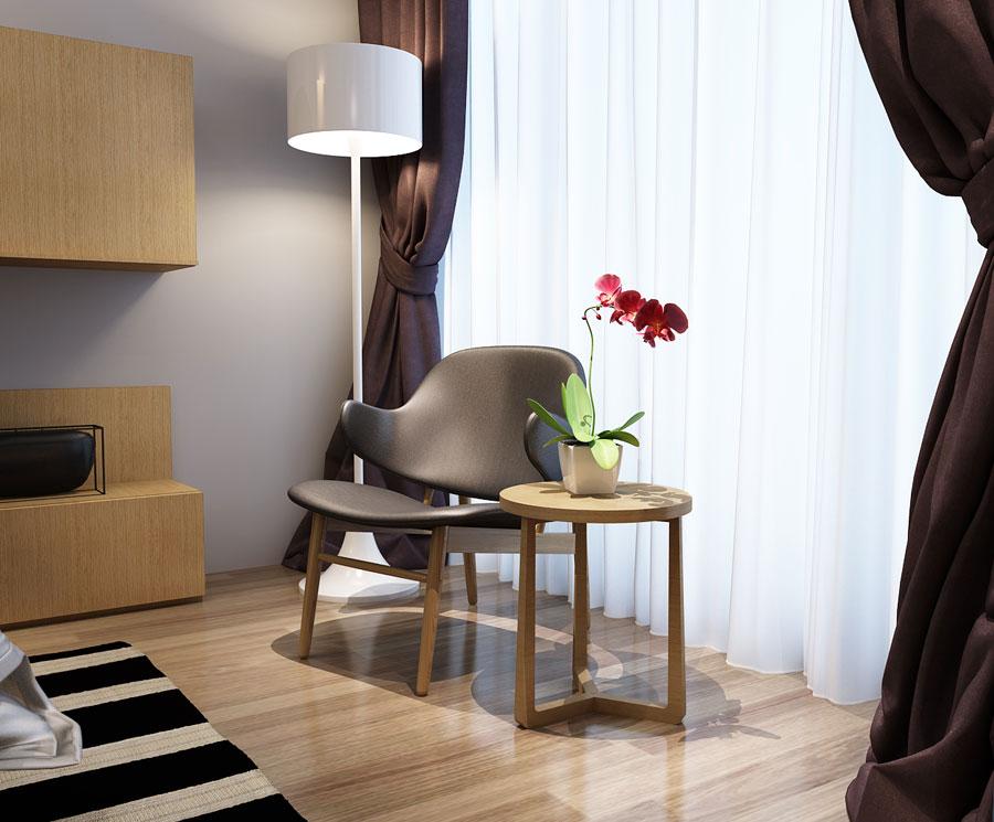 北欧风情休闲椅组合W005b
