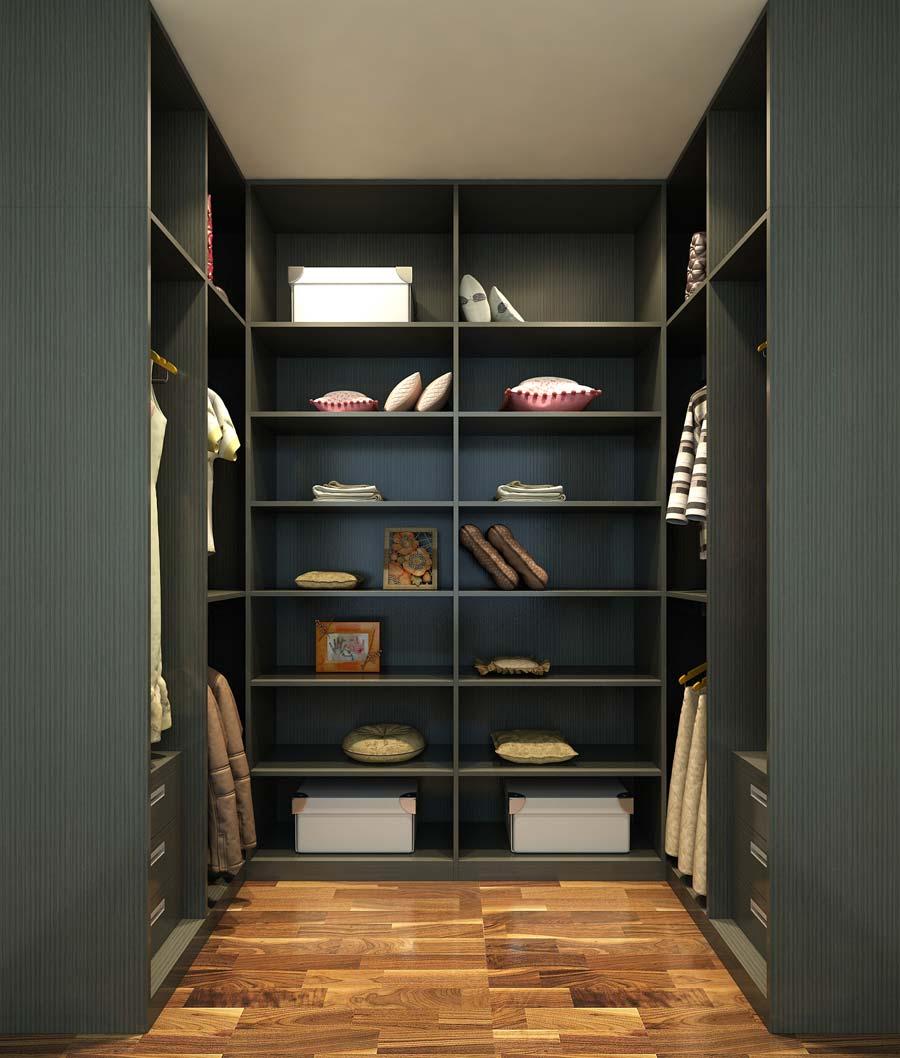 卧室衣柜装修的六大省钱技巧 4,主卧室衣柜门变内门 大面积的主卧都配