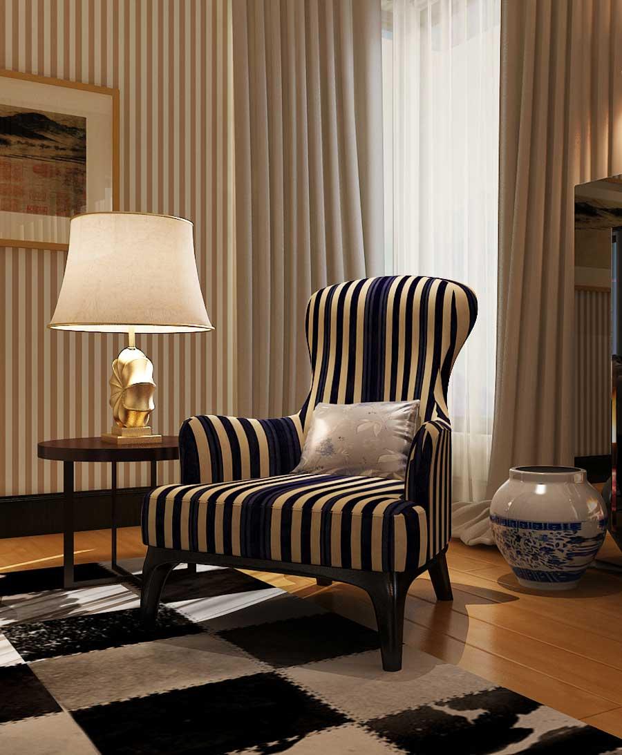 比弗利休闲椅K027b