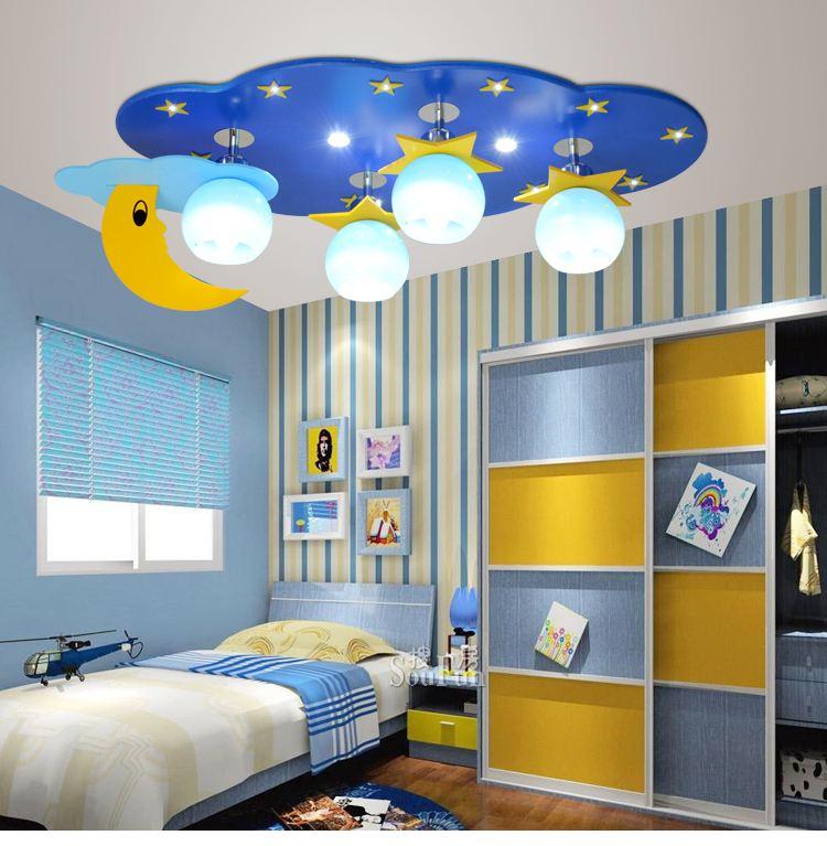 儿童房灯具选择有讲究