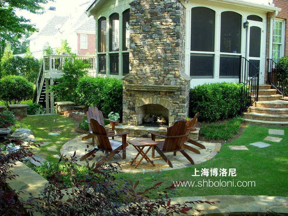 别墅庭院,别有洞天,一些庭院设计的原则